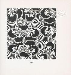 AUCHENTALLER-ZEICHNUNGEN-6.jpg (2491×2619)  Pattern design by Josef Maria Auchentaller (1865-1949),