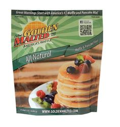 Carbon's Golden Malted Natural Waffle and Pancake Flour, 32 Ounce (Pack of 3) * See this awesome image