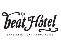 Beat Hotel, a psychedelic new brasserie and bar featuring live music, on Brattle Street in Harvard Square. From the people who brought us the Beehive.