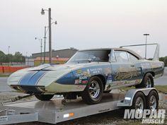 Old Drag Cars   Vintage 69 Daytona Drag Race Car& Sox Martin Superbird