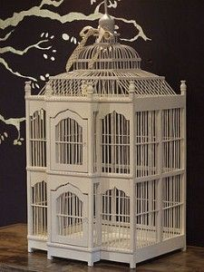 vintage wooden birdcage - Google Search