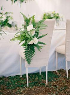 25 Edgy And Bold Fern Wedding Ideas Wedding Decor Diy Wedding Wreath, Wedding Decorations, Table Decorations, Wedding Chairs, Wedding Table, Wedding Ceremony, Chair Decor Wedding, Reception, Fern Wedding