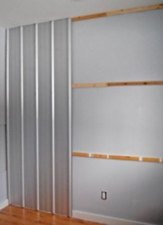 diy galvanized tin wall - I am totally doing this!!!!!!!!!!!!