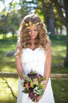 Bouquets Boho Wedding Hairstyles