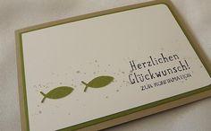 Konfirmationskarte  Geldgeschenk von Liebe Grüsse auf DaWanda.com