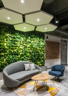 Browse and discover thousands of office design and workplace design photos - tagged and curated to make your search faster and easier. Cool Office Space, Office Space Design, Modern Office Design, Workspace Design, Office Interior Design, Office Interiors, Modern Office Spaces, Office Ceiling Design, Modern Offices