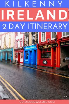 Kilkenny offers amazing restaurants, accommodation and things to do. Come discover this exciting two day Kilkenny itinerary that has something for everyone. Europe Travel Guide, Travel Guides, Travel Tips, Travel Destinations, Best Places To Vacation, Cool Places To Visit, Scotland Travel, Ireland Travel, Driving In Ireland