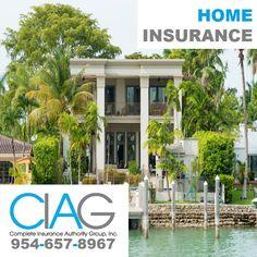 (954) 657-8967 Homeowners Insurance in Boca Raton, Florida: Get Insured by CIAG. #homeownersinsuranceBocaRaton http://insurancepompano.com/insurance-boca-raton/ Agent: Larry Karavasilis