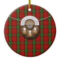 Maxwell Tartan Christmas Ornaments & Maxwell Tartan Ornament ...