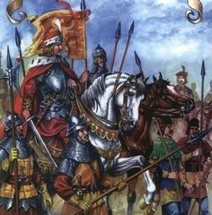 Moldavian Army of Stefan the Great XVth century Medieval Knight, Medieval Armor, Vlad The Impaler, Early Middle Ages, Knights Templar, Dark Ages, Military Art, Warfare, Illustrations