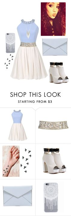 """""""Mahogany LOX"""" by cassandra-silang ❤ liked on Polyvore featuring Rebecca Minkoff and Lane Bryant"""