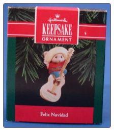 Hallmark Keepsake Christmas Ornament Feliz Navidad $10.