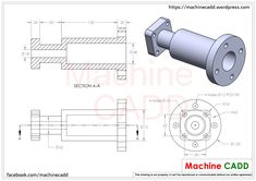 Machine CADD welcomes you.On this section we will provide you CAD Exercises for any CAD software.You can practice these CAD Exercises in any CAD softwares li… Autocad Isometric Drawing, Isometric Drawing Exercises, Mechanical Engineering Projects, Cad Tools, Solidworks Tutorial, Cad Programs, 3d Cad Models, Mechanical Design, Cad Drawing