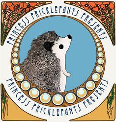 Princess Pricklepants And Our Inaugural Webcomic Issue Hedgehog Accessories, Little Brown, Hedgehogs, Diy Art, Art Nouveau, Presents, Princess, Comics, Funny