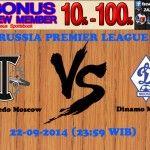 Prediksi Bola FC Torpedo Moscow vs Dinamo Moscow 22-09-2014 RUSSIA PREMIER LEAGUE