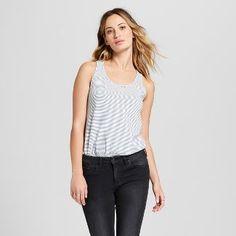 5dd29074be2 Women s Lafayette Knit Tank Top - Universal Thread™ Blue Stripe    gt  CLICK