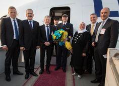 """Lufthansa Cargo-Frachter trägt den Namen """"Marhaba, Egypt"""" - http://www.logistik-express.com/lufthansa-cargo-frachter-traegt-den-namen-marhaba-egypt/"""