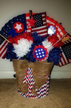 Patriotic Themed Centerpiece by Kreative Kinks