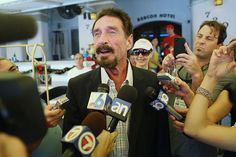 Eccentric Millionaire John McAfee is Making a Comeback   In 2016, you'll be seeing a whole lot more of John McAfee, the 70-year-old eccentric cybersecurity pioneer.