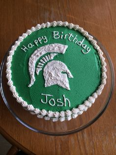 Michigan State Themed My Cake Goodies Themed Birthday