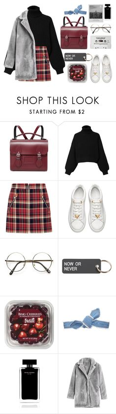 """""""Untitled #945"""" by dolrebeca ❤ liked on Polyvore featuring The Cambridge Satchel Company, Diesel, rag & bone, Various Projects, Meggie, Colette Malouf and Narciso Rodriguez"""