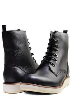 BOOT CAMP - All Black Shoes - Designer Men's Shoes