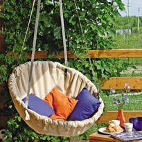Hanging hammock chair. Master class. Discussion on LiveInternet - Russian Service Online Diaries
