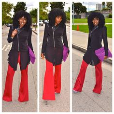 Today's Post! 70s style! Love those red pants
