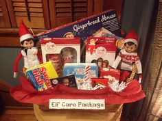 Elf on the Shelf….Elf Care Package