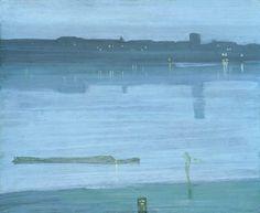 Nocturne en bleu et argent, James Whistler