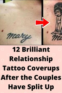 12 Brilliant #Relationship Tattoo #Coverups After the Couples Have #Split Up Relationship Tattoos, Relationship Advice, Wtf Funny, Funny Memes, End Of Friendship, Online Shopping Fails, Grey Hair Transformation, Tattoo Fails, Simple Acrylic Nails