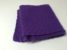 Purple Lace Yarn Wool Scarf by tonebelle on Etsy, $40.00