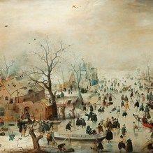 ixxi image bank rijksmuseum art winter landscape with skaters hendrick avercamp