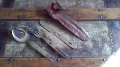 Camping utensils made in Japan by Lauralous on Etsy