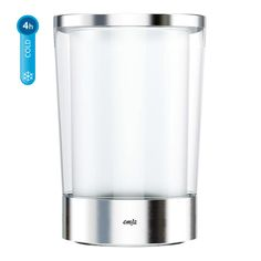 EMSA FLOW SLIM Flaschenkühler–Größe: 14,5 x 21,5 cm Hochwertiges Design Einzigartiger Kühlakku für extra Kühlleistung