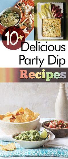 10+ Delicious Party Dip Recipes #party #partyfood #partyplanning #recipeideas #recipe
