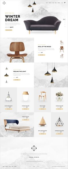 M989 is a clean and modern #PSD template for #eCommerce #websites with 3 homepage layouts and 24 PSD pages download now➩  https://themeforest.net/item/m989-ecommere-psd-template/18708078?ref=Datasata