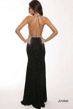 Embellished Jersey Dress