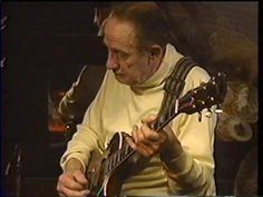 LES PAUL. This guy kept playing until he was in his 90's. Many people do not realize that in addition to being the supreme inventor, he was also an incredible guitarist! Here he is late in life when his hands were not up to his youth but  he still had it!