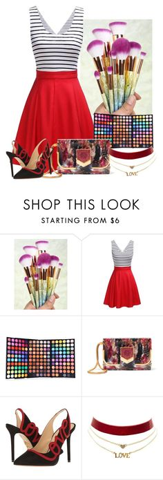 """""""Untitled #223"""" by aida-ida ❤ liked on Polyvore featuring beauty, Jimmy Choo, Charlotte Olympia and Charlotte Russe"""