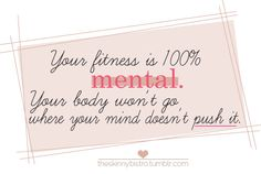 Your fitness is 100% mental. #fitness #p90x #motivation