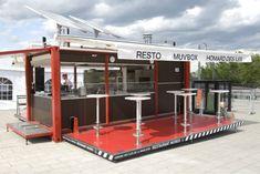 mobile restaurant/container restaurant/prefabricated restaurant