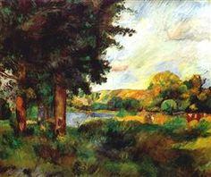 Ile de France - Pierre-Auguste Renoir
