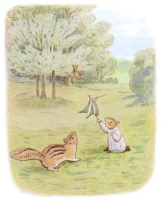 The Tale of Timmy Tiptoes - Bird Sings to Chipmunks