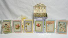 Secret Garden Boxed Note Card Set -5 by sabrad - Cards and Paper Crafts at Splitcoaststampers