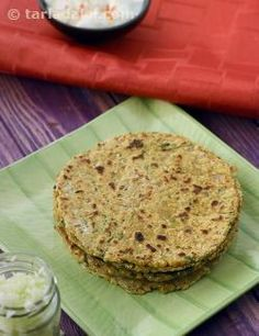 Here we present you with one of Maharashtra's most popular and nutritious delicacies! Made of whole grains, the Jowar Bajra Besan Thalipeeeth is rich in protein, calcium and iron.