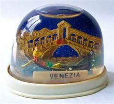 Venice souvenir snow globe