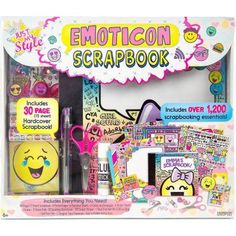 Just My Style Emoticon Scrapbook by Horizon Group USA