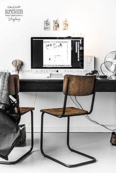 Aż chce się pracować w takim domowym biurze⭐#HomeOffice #office #workspace
