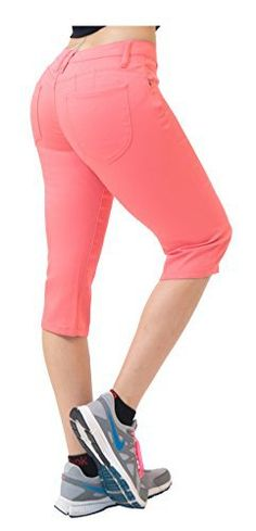 Hybrid & Co. Women's Butt Lift Super Comfy Stretch Denim Capri Jeans This butt lift skinny capri jeans made of ultra soft fabric, specially designed to hug your body and enhance your curves. Very comfortable and stylishFabric blended with spandex for stretch and comfortMachine wash, Tumble drySkinny Flattering FitGive your bum a lift with specially designed fit to lift and contour in all the right placeVarious Colors for full pants http://www.amazon.com/dp/B01EVX65PK  7